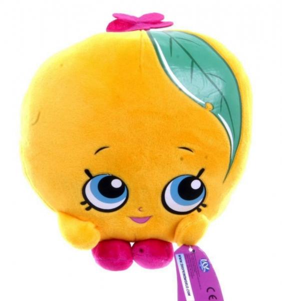 Shopkins 'Peachy' 8 inch Plush Soft Toy