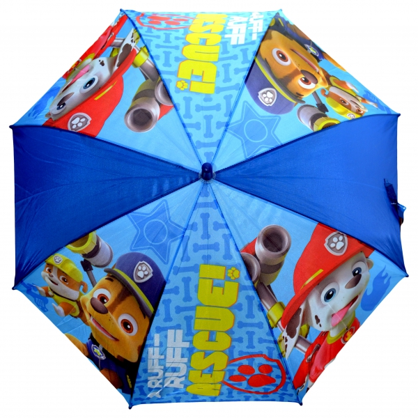 Paw Patrol Boys 'Dark Blue' Full Panel Automatic School Rain Brolly Umbrella