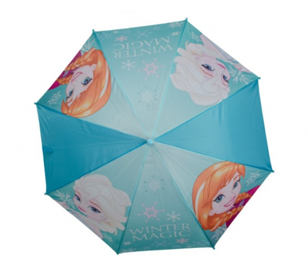 Disney Frozen 'Blue' Full Panel Automatic School Rain Brolly Umbrella