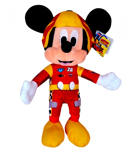 Disney Mickey and The Roadster Racers 'Mickey Mouse' 12 inch Plush Soft Toy