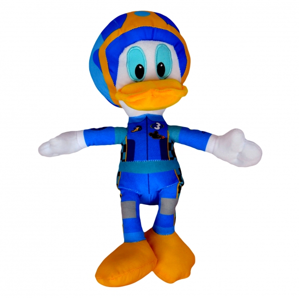 Disney Mickey and The Roadster Racers 'Donald Duck' 12 inch Plush Soft Toy