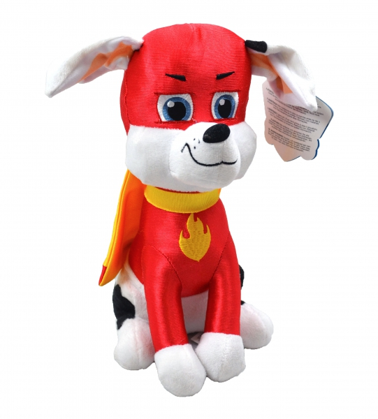 Paw Patrol Superheroes 'Marshall' 27cm Sitting Plush Soft Toy
