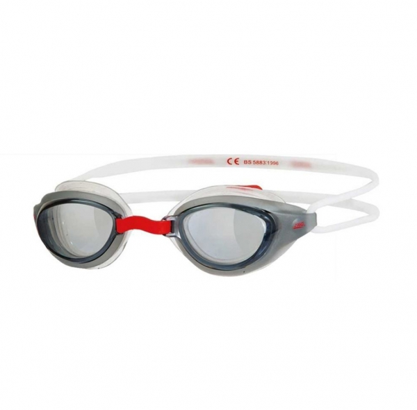 Sonic Air Junior 'Black & White' Swimming Goggles 6-14 Years Pool