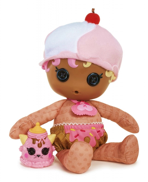 Lalaloopsy Babbies 'Scoops Waffle Cone' Plush Doll Toy