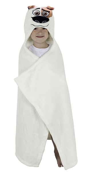 The Secret Life of Pets 'Mel' Girls One Size Cuddle Robe