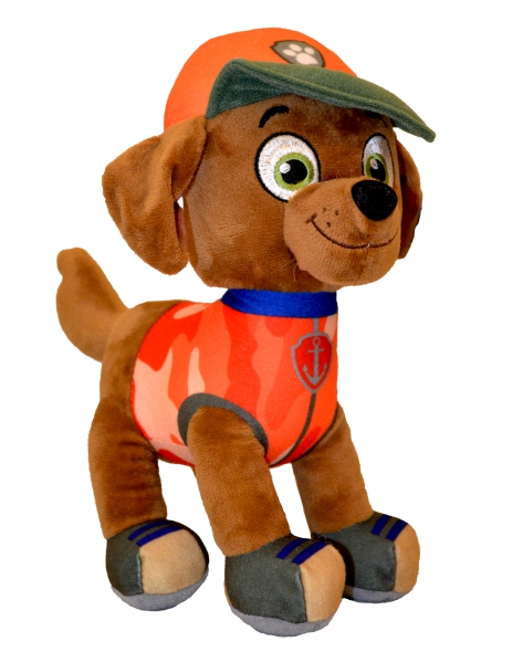Paw Patrol Jungle Rescue 'Zuma' 27cm Plush Soft Toy