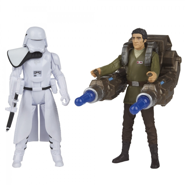Disney Star Wars First Order 'Snowtrooper & Poe Dameron' Action Figure Toy