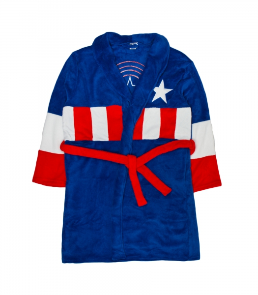 Captain America 'Mens' One Size Bathrobe