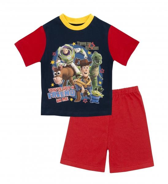Disney Toy Story 'Friends' Boys Short Pyjama Set 2-3 Years