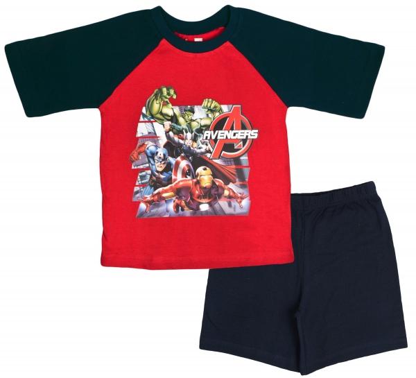 Avengers 'Action' Boys Short Pyjama Set 7-8 Years