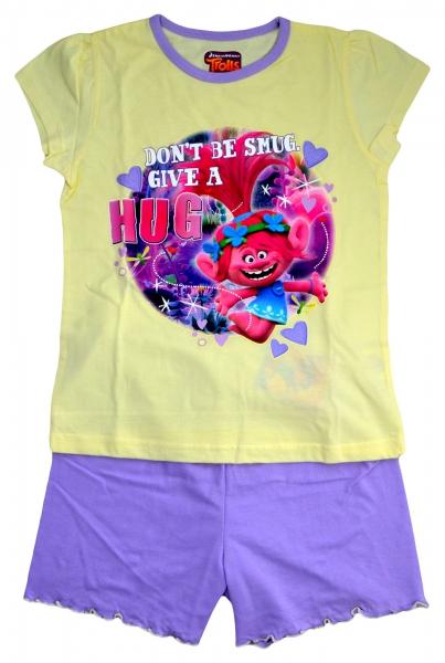 Trolls 'Hug' Girls Short Pyjama Set 5-6 Years