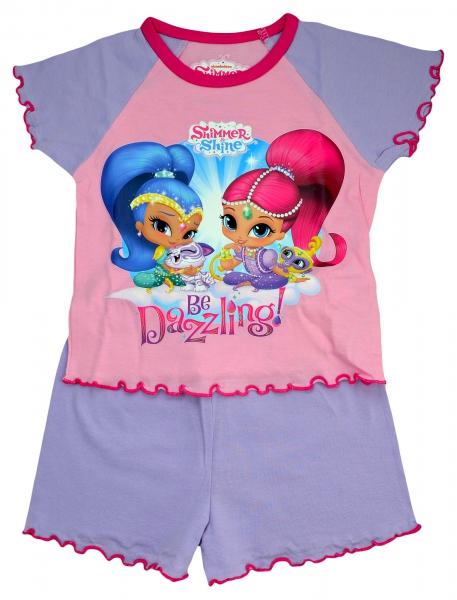 Shimmer & Shine 'Be Dazzling' Girls Short Pyjama Set 3-4 Years