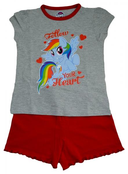 My Little Pony 'Follow Your Heart' Girls Short Pyjama Set 4-5 Years