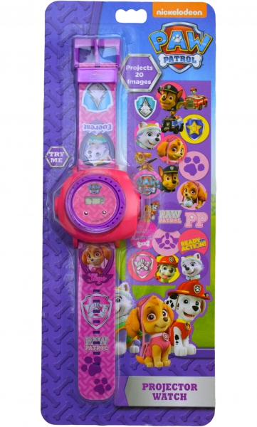 Paw Patrol Girls 'Projector' Digital Wrist Watch