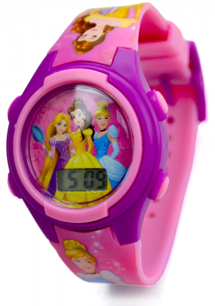 Disney Princess 'Rapunzel & Friends' Girls Digital Metal Tin Gift Wrist Watch