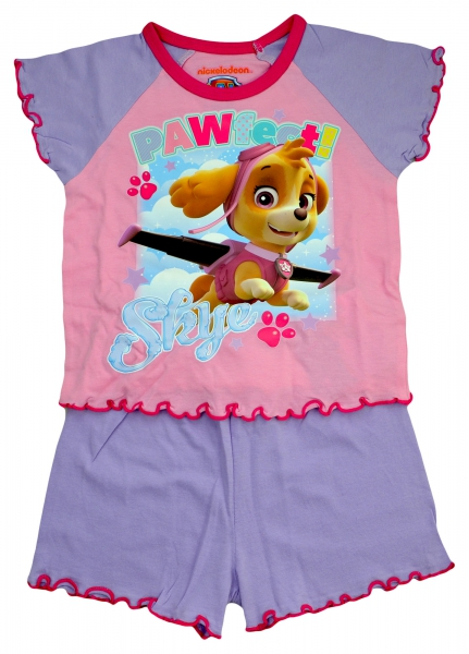 Paw Patrol 'Pawfect Skye' Girls Short Pyjama Set 12-18 Months