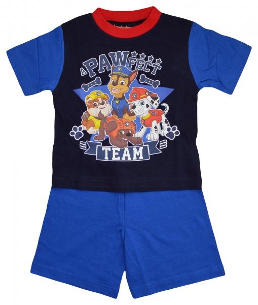Paw Patrol 'a Pawfect Team' Boys Short Pyjama Set 3-4 Years