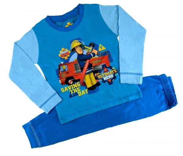 Fireman Sam 'Ultimate Hero' Boys 12 Months -  4 Years Snuggle Fit Pyjama Set