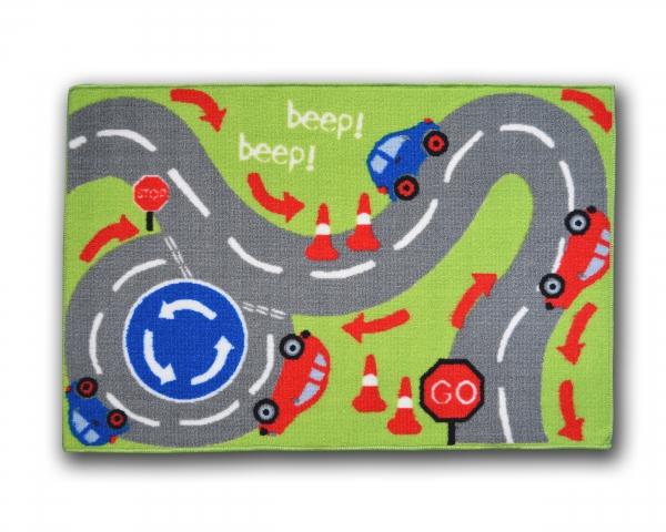 Designer Mat 'Beep Beep' Kids Rug