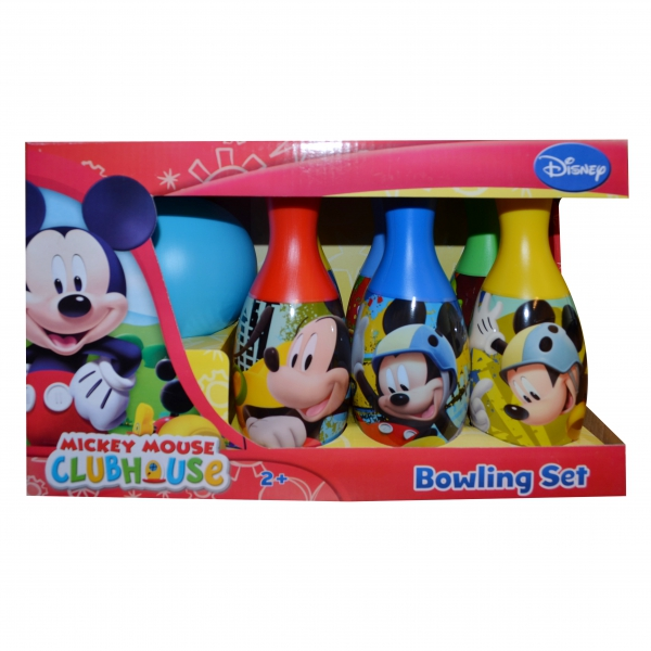 Disney Mickey Mouse 'Friends' 7 Piece Bowling Set Toy