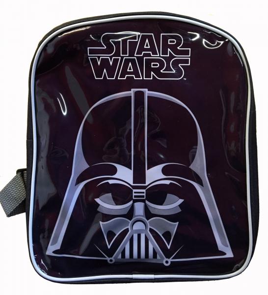 Disney Star Wars 'Darth Vader' Pvc Front School Bag Rucksack Backpack