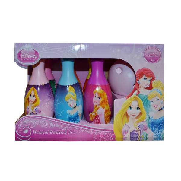Disney Princess 'Royal Friends' 7 Piece Bowling Set Toy