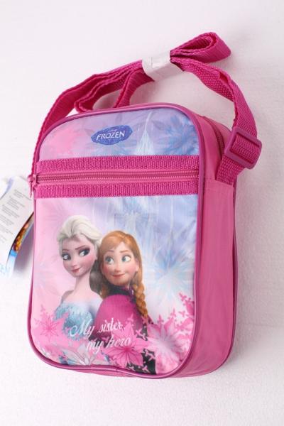 Disney Frozen 'Dark Pink' School Shoulder Bag