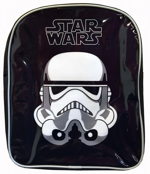 Disney Star Wars 'Stormtrooper' Pvc Front School Bag Rucksack Backpack