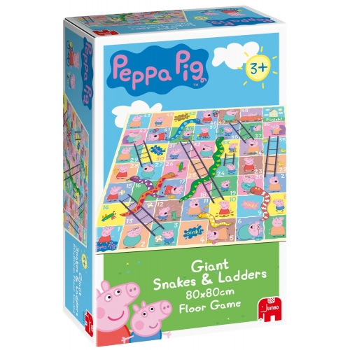 Peppa Pig Giant Snakes & Ladders Board Game Puzzle