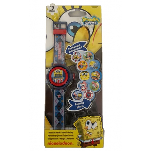 Spongebob Squarepants 'Project a Sketch' Wrist Watch