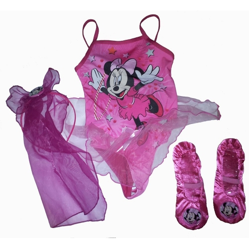 Disney Minnie Mouse Ballet Set 2 To 4 Years Costume