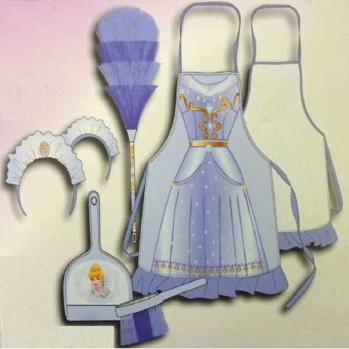 Disney Princess 'Cinderella' Cleaning Set Costume