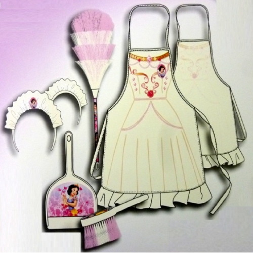 Disney Princess 'Snow White' Cleaning Set Costume