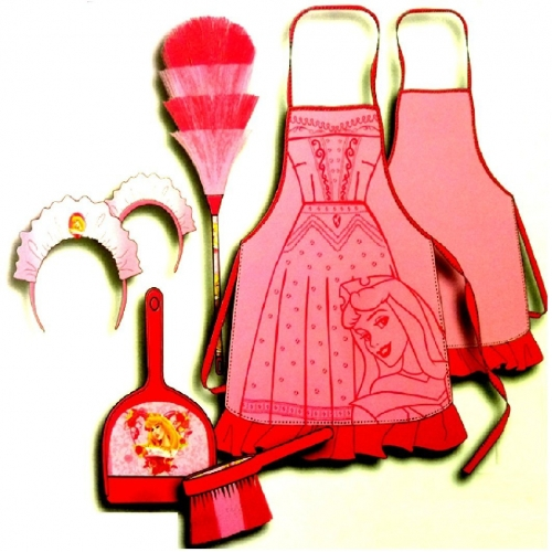 Disney Princess 'Arora' Pink Cleaning Set Costume
