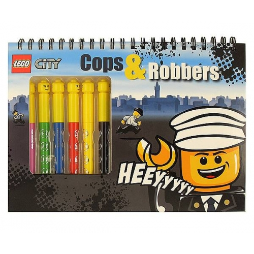 Lego 'Activity Cops & Robbers' Activity Pack Stationery