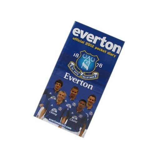Everton Pocket Diary 2012 Calendar Fc Football Official