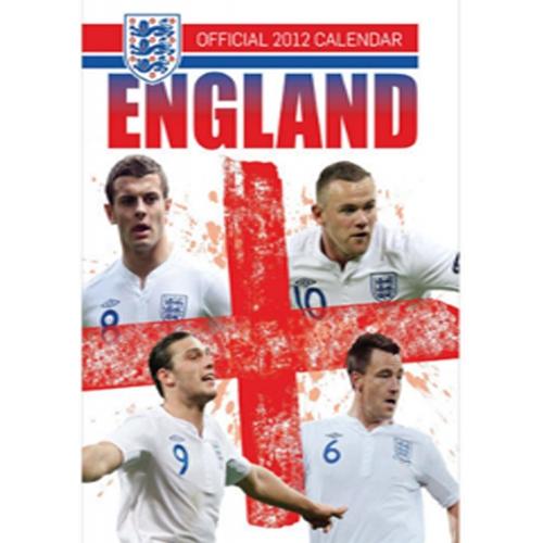 England 2012 Wall Calendar Fc Football Official