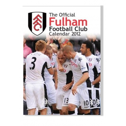 Fulham Fc 2012 Wall Football Official Calendar