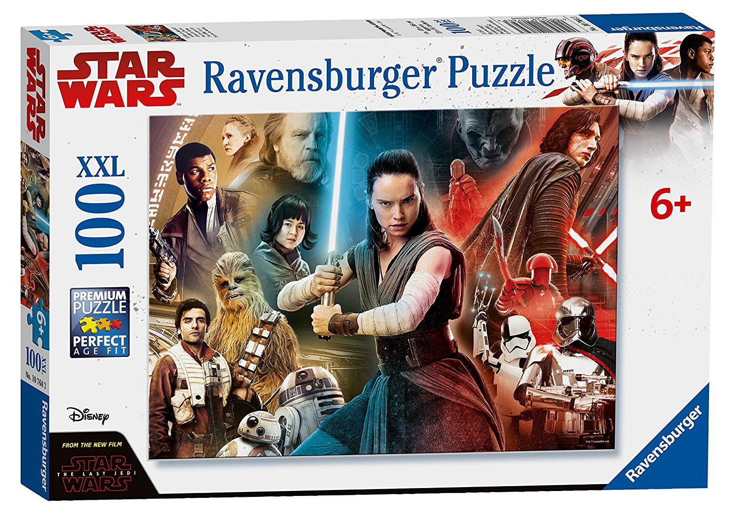 Disney Star Wars 'The Last Jedi' XXL 100 Piece Jigsaw Puzzle Game