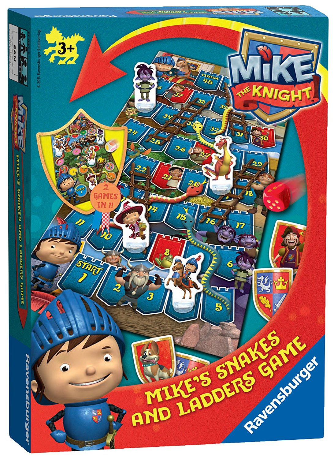 Mike The Knight Board Game