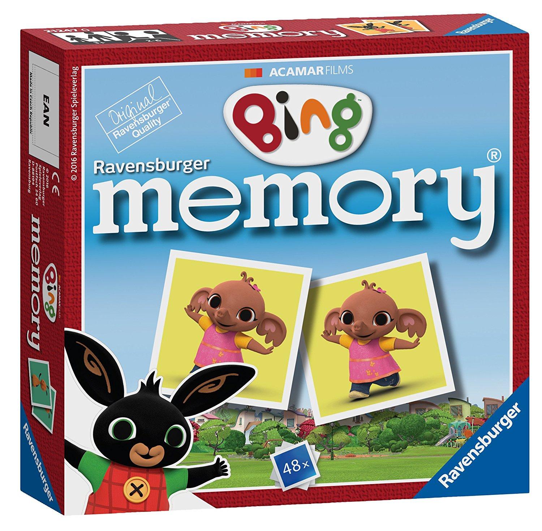 Bing Bunny Mini Memory Game Puzzle 4005556212477