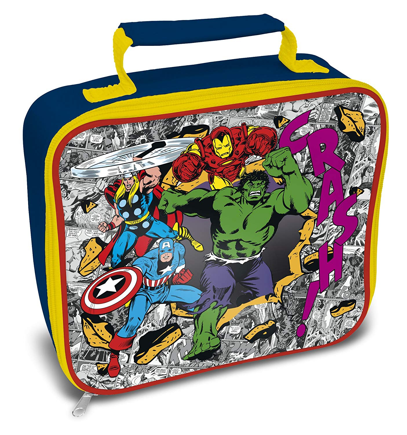 Marvel Avanger Crash School Rectangle Lunch Bag
