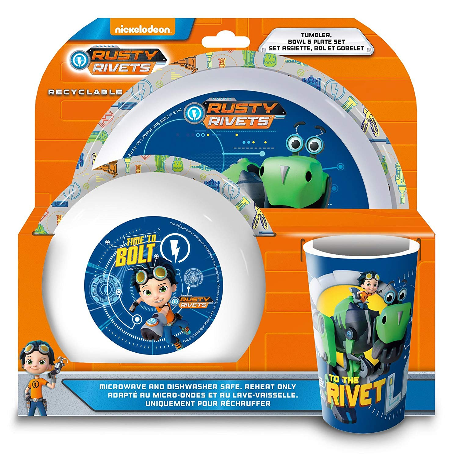 Rusty Rivets Dinner Set