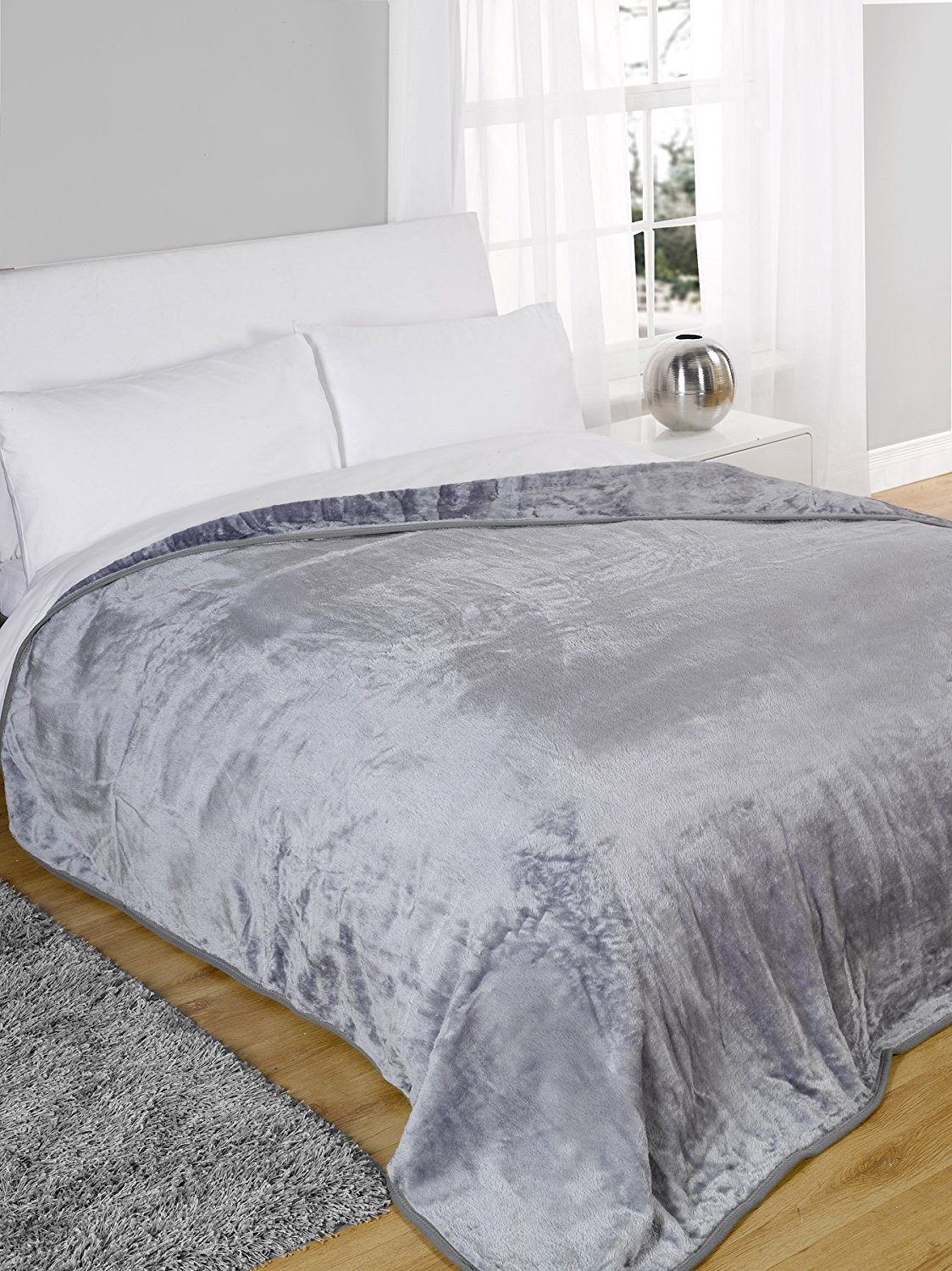 Dreamscene Bed Fleece Throw Blanket Super Soft Warm