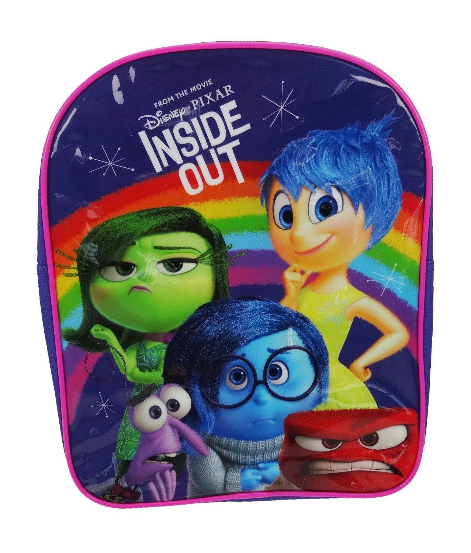 813002d11f6 Disney Inside Out  Emotions  Pvc Front School Bag Rucksack Backpack  5036278063299