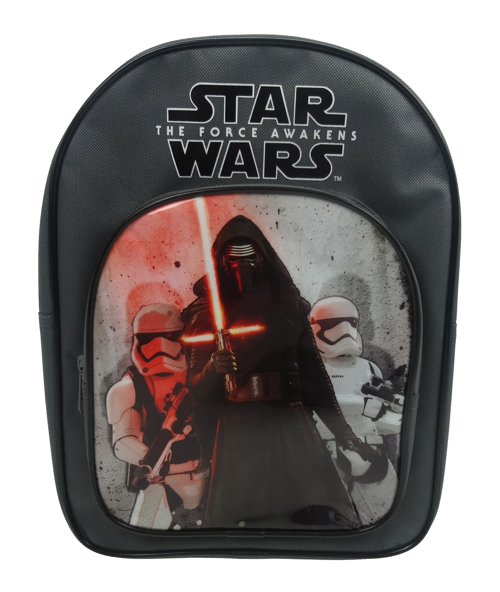 Disney Star Wars Kylo Ren Grey Arch Backpack School Bag Rucksack