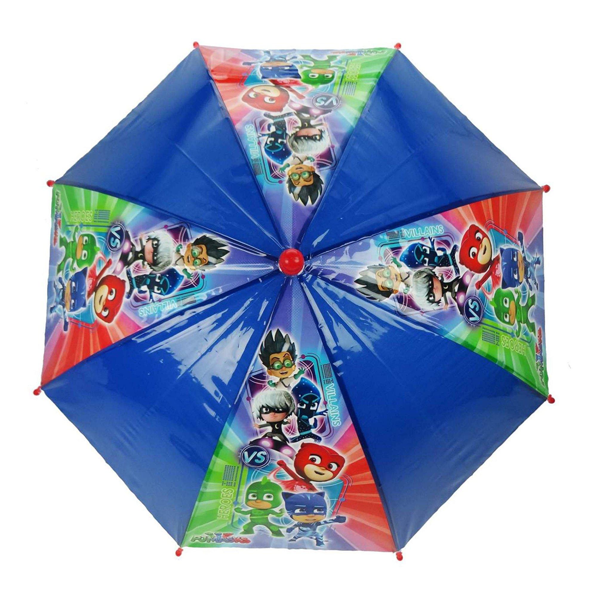 Disney Pj Masks 'It' S Time To Be Hero' School Rain Brolly Umbrella
