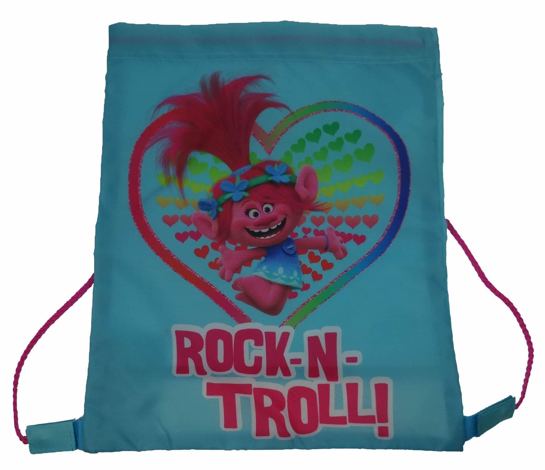 Trolls Rock-n-troll! Drawstring School Pe Gym Trainer Bag