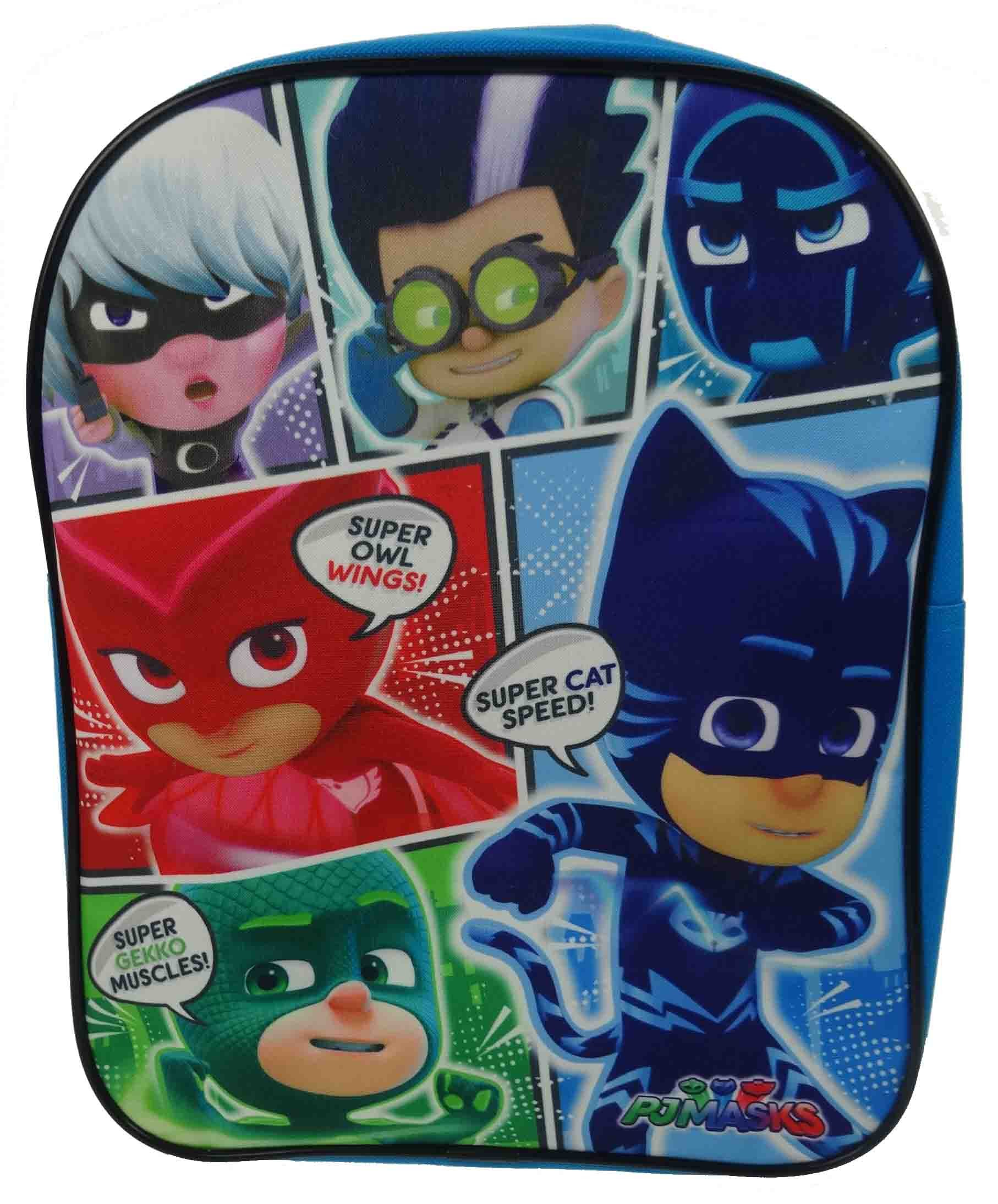 Pj Masks Comics School Bag Rucksack Backpack