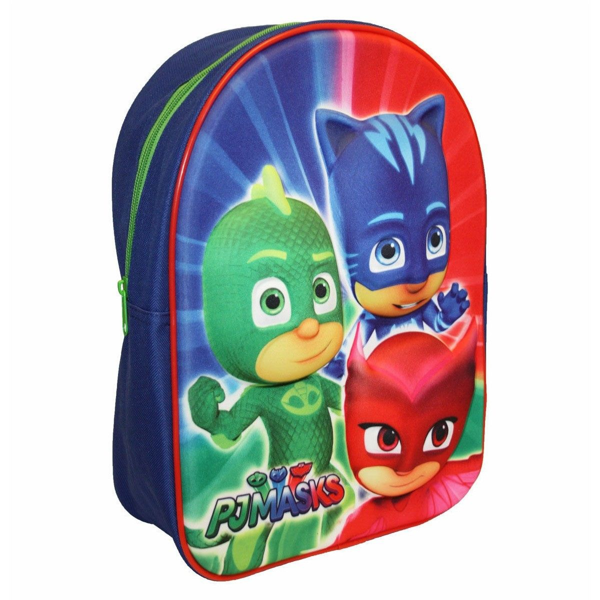 P J Masks Eva 3d School Bag Rucksack Backpack